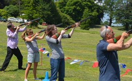 laser clay shooting exeter