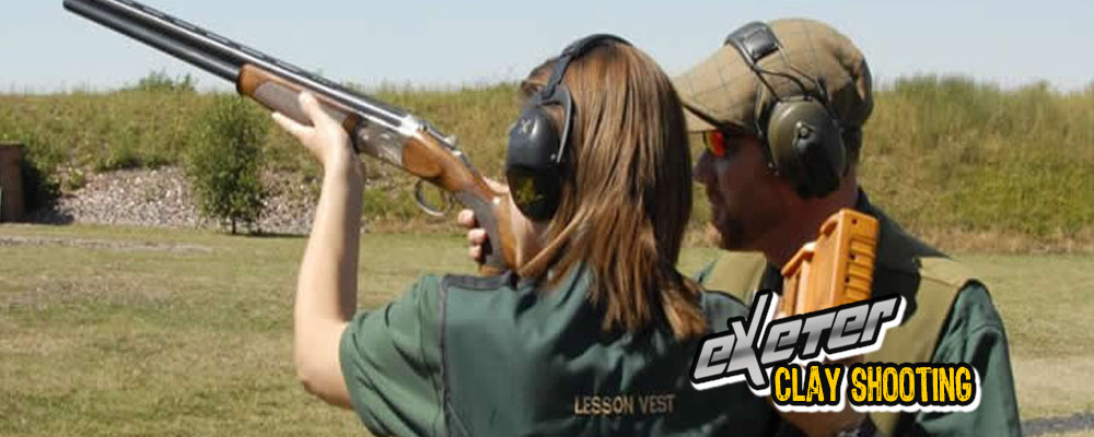 clay shooting lesson exeter